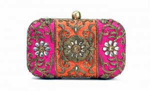 Beautiful Embroidered Wedding Clutches