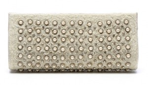 Stylish Silver Wedding Clutches