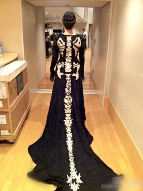 Halloween Wedding Dress