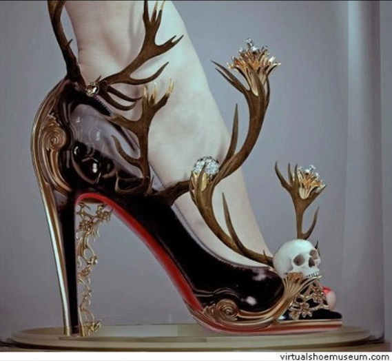 Halloween Wedding Shoes
