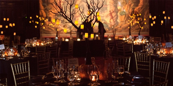 Halloween Reception Decor