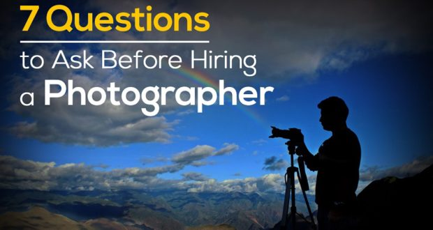 7 Questions To Ask Before Hiring A Wedding Photographer